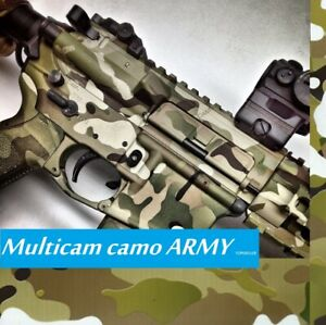 Desert Army Camo Water Transfer Dipping Hydrographic Hydro Film 19x79 Fighting