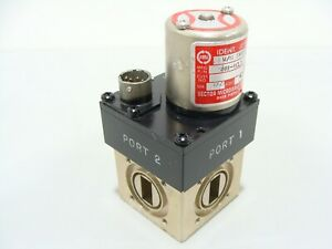 Sector Microwave Wr62 12 4 18ghz Waveguide Switch Smu 4cl1 28vcd 4 port