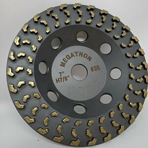 Megatron 7 Diamond Cup Grinding Removing Disc Wheel For Any Concrete Paint