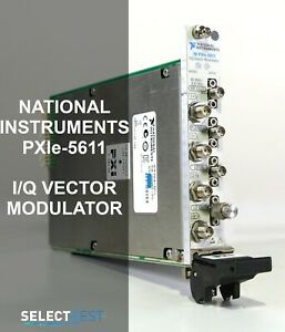 National Instruments ni Pxie 5611 50mhz 8 Ghz I q Vector Modulator ref 210g