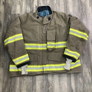 Globe Gxtreme 58 X 33 Firefighter Turnout Bunker Jacket Fire Rescue 2011 Large