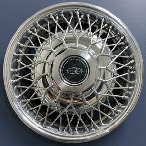 One 1980 1985 Buick Riviera 1099 15 Wire Hubcap Wheel Cover Gm 25504652