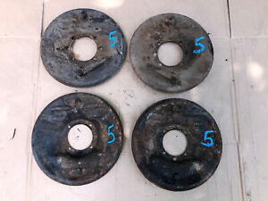 1928 1929 Model A Ford Front Rear Backing Plates With Brake Shoes Brakes 28 5