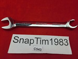 Snap On Tools 20mm 6pt Open end flare Nut Wrench Rxsm20b Mint