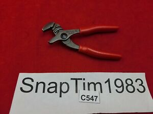 Snap On Tools 5 Small Mini Adjustable Joint Pliers Grips Awp45 Mint