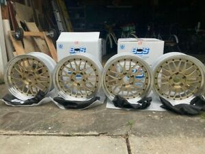Bbs 17 Lm Two piece Wheels Bronze new In Box