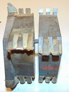 Lot Of 2 Molding Shaper Cutters 1 1 4 Bore Profile Woodworking Pct