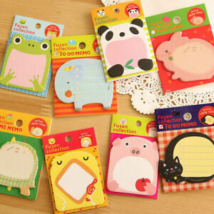 Sticky Notes Korean Style Stationery Cute Happy Zoo Hot Pad Creat Notes