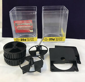 Lot Of Uturn U Turn Bulk Candy Vending Machine Replacement Parts Canister Insert