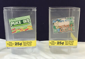 Lot Of 2 Uturn U Turn Bulk Candy Vending Machine Replacement Parts Sm Canisters