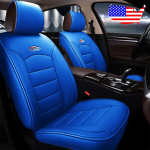 Car 5 seat Pu Leather Seat Covers Cushions Kit For Mazda 3 6 Cx 5 Cx 7 Tribute