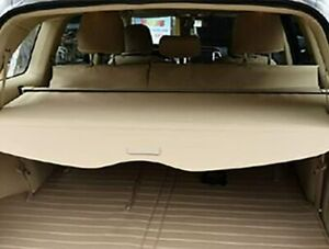 Cargo Cover Security Rear Trunk Retractable For 08 13 Toyota Highlander Beige