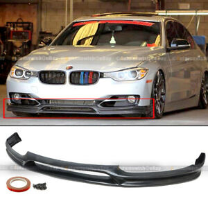 For 12 15 Bmw 3 Series F30 Base 3d Style Front Pu Bumper Lip Spoiler Body Kit