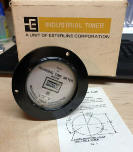 New industrial Timer Running Time Meter C2 120 60