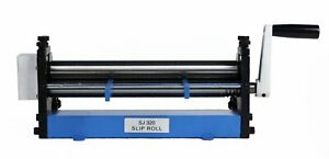 Erie Tools 12 Sheet Metal Slip Roll For Cylinders Reverse Curves Radius Bends