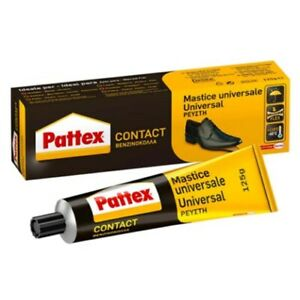 Henkel Pattex Contact Mastice 125 G Glue Metal Plastic Rubber Leather Wood