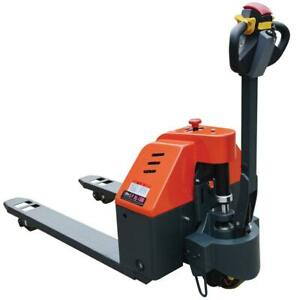 Pec Automatic Pallet Jack Electric Power Pallet Truck For Heavy duty Industrial