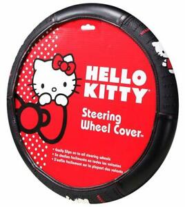 New Sanrio Hello Kitty Core Car Truck Universal Fit Steering Wheel Cover
