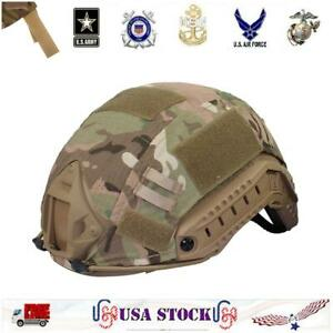 Tactical Helmet Cover For Fast Helmet Tactical Military Headwear Hunting Airsoft $10.64