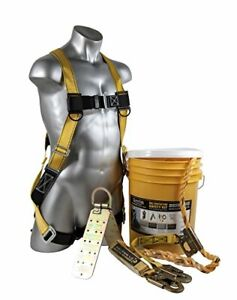 Guardian Fall Protection 00815 Bucket Of Safe tie Roofing Kit