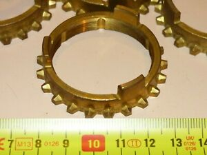 Fiat 600 D E Multipla Gearbox Syncro Ring Brass New