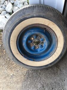 Ford Thunderbird 1958 1959 1960 Stock Kelsey Hayes Wheel With Good Tire