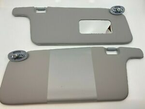 Fit For Honda Civic 1996 2001 Interior Sunvisor Pair Gray Color Lhd