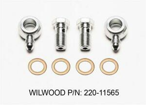 Wilwood Brake Line Fittings And Adapter 220 11565