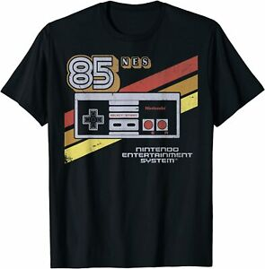 New Limited Controller Retro Stripe 85 Graphic T shirt S 3xl