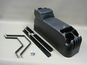 P71 Black Center Console Crown Victoria Police With Mounting Kit