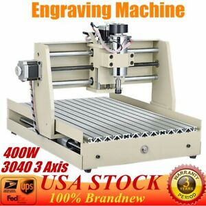 3 Axis 3040 Cnc Router Engraver Carving Woodworking Mill Engraving Machine New