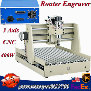 3axis Cnc 3040 Router Engraver 3d Cutter Wood Carving Milling Engraving Machine
