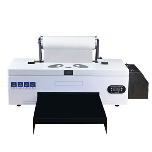 Dtf Flatbed Printer Direct To Film Home Business W Roller Feeder Batch Printing