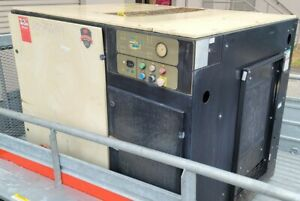 Ingersoll Rand Rotary Screw Compressor Model Up6 40 125 Only 2 988 Hrs