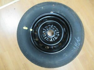 97 98 99 00 01 Toyota Camry In Trunk Spare Tire Full Size Wheel 14 5 Lug Oem