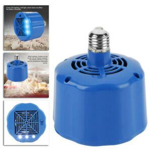 100 300w Cultivation Heating Lamp Thermostat Fan Heater Chicken Egg Incubator