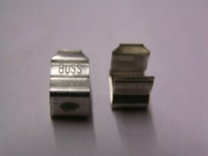 20 Bussmann 5681 08 5000 Series Fuse Clips Without Stops Screw Down
