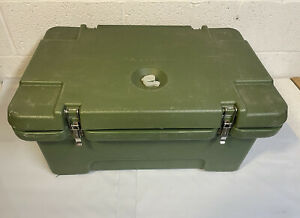 Us Military 1996 Cambro Hot Cold Food Carrier Stainless Inserts Seals Mess Field