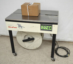 Strapack D 52 Semi automatic Strapping Binding Machine Tension 4 4 100lbs Roll