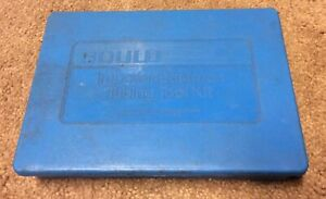 Imperial Eastman 1 8 To 3 4 45 Flaring And Swaging Kit tubing Tool Set Gould
