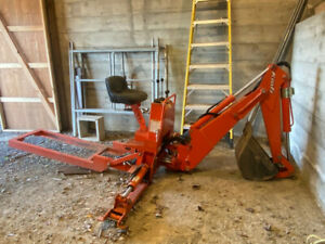 Kioti Backhoe Kb2365 Attachment It Has About 20 Hours Of Use