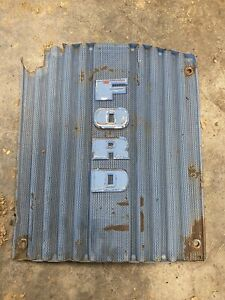 Ford 2000 4000 Tractor Front Hood Grille 1963 64
