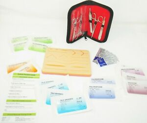 Suture Skills 29 Piece Suture Practice Kit And Pocket Guide