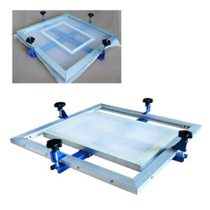 60x60cm Manual Screen Printing Stretcher For Aluminum Wooden Iron Screen Frame