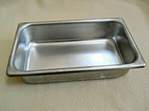Vollrath Stainless Steel Replacement Steam Table Warming Pan Usa