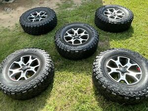 Jeep Wrangler Unlimited Rubicon Wheels And Tires Lt285 70r17 116 113