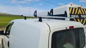Silver Ladder Roof Rack Cross Bars For Van Ford Transit Connect 2008 2013
