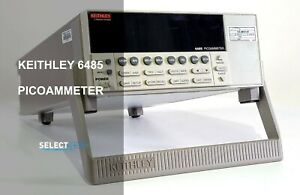 Keithley 6485 Picoammeter recent With Fresh Calibration look ref 565g