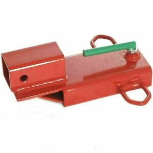 New Titan Attachments Forklift Hitch Receiver Clamp On Steel 3 000 Lb Capacity
