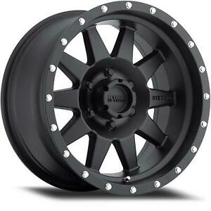 Method Race Wheels The Standard 18x9 With 5 On 150 Black Painted Mr30189058518